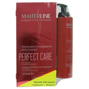 Masterline Shampoo Anticaduta Capelli 250 ml + 12 Fiale 8 ml