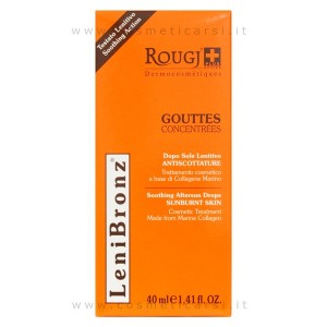 Rougj Antiscottature LeniBronz Lenitivo Corpo 40 ml
